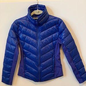 ALO Yoga blue puffer jacket